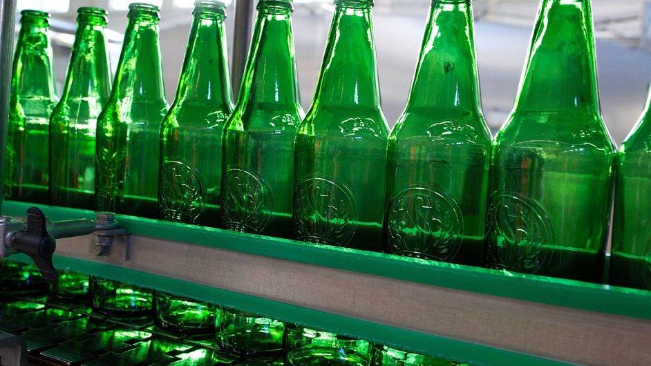 Staropramen nove lahve na lince