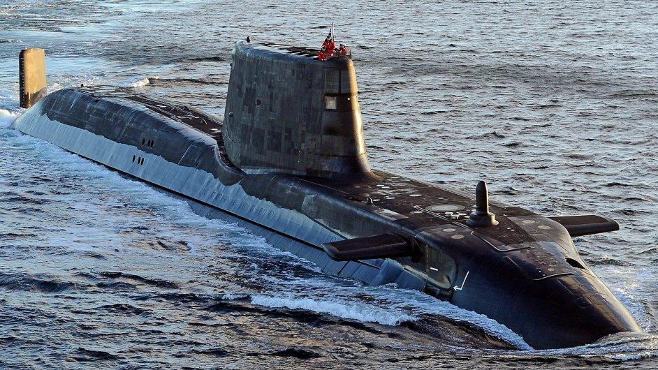 Ponorka HMS Ambush, která je dlouhá 97 metrů, patří mezi nejmodernější plavidla svého druhu.