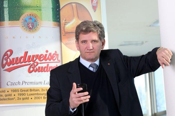 Šéf Budvaru Jiří Boček