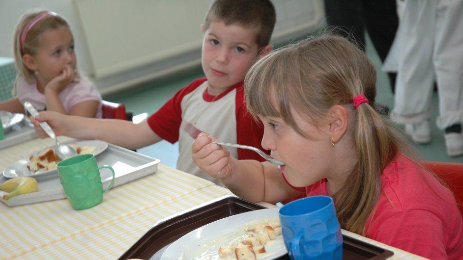 Školní jídelna - Ilustrační foto.