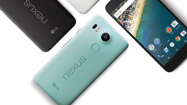 Telefon Nexus 5X patří mezi nejpopulárnější zařízení od Googlu