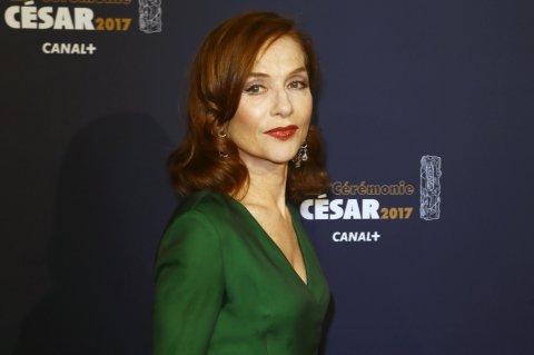 Isabelle Huppertová za film Elle získala Césara pro nejlepší herecký výkon.