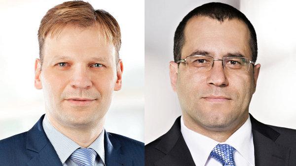 Marcel Sedlák, generální ředitel německé pobočky a René Popík, člen představenstva holdingu HB Reavis