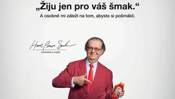 Hans Peter Spak v kampani na značku Spak (2017)