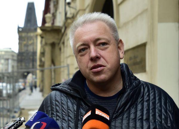 Milan Chovanec před jednáním grémia ČSSD
