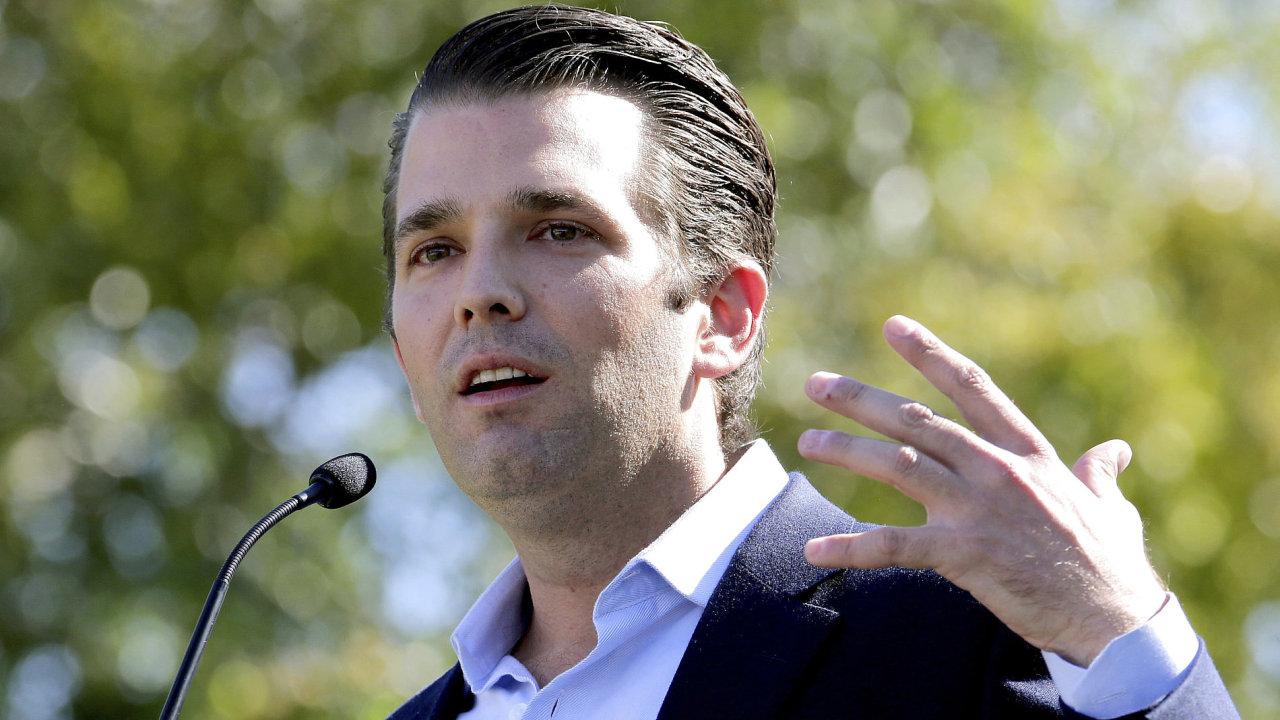 Nejstarší syn amerického prezidenta Donald Trump jr.
