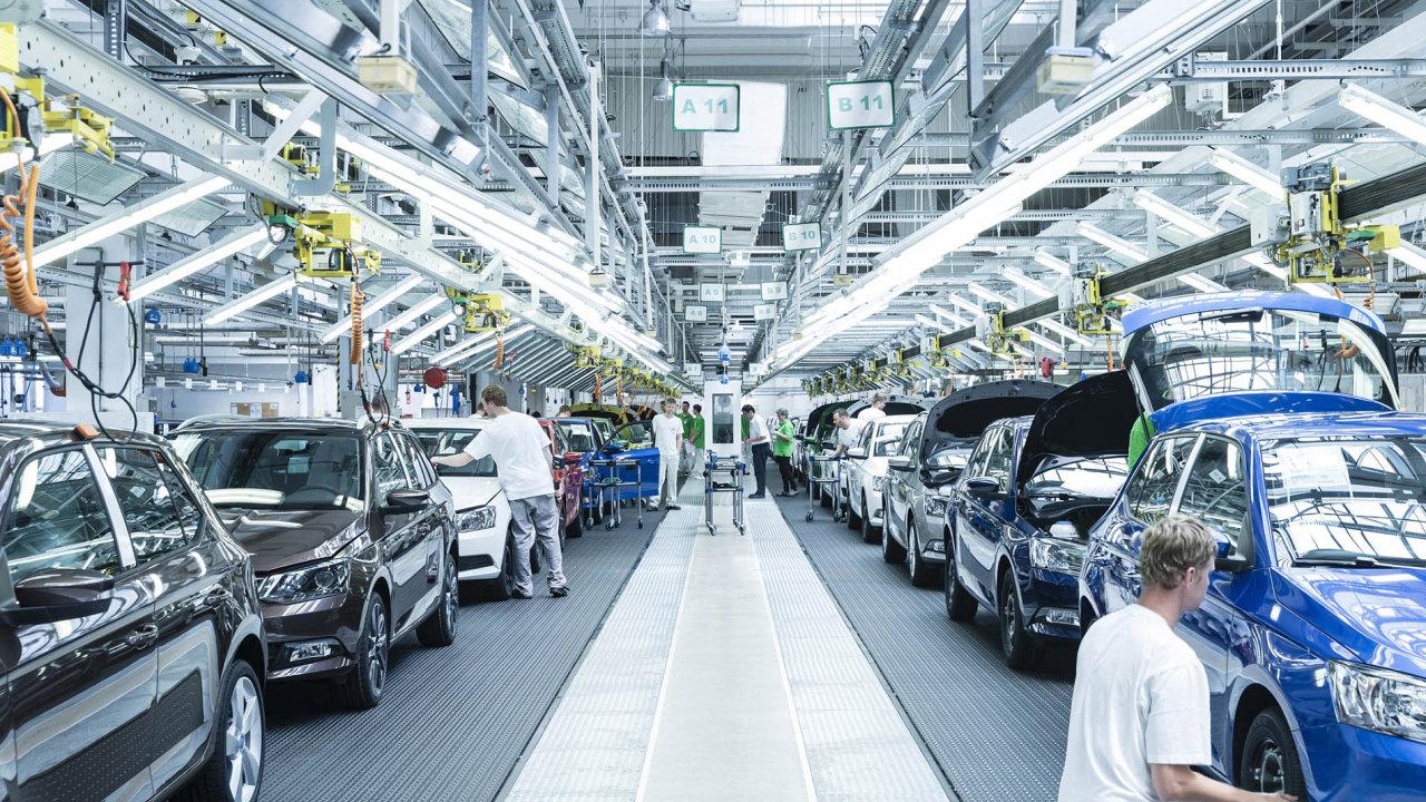 Konec dieselového pohonu se bude týkat menších modelů jako Fabie či Rapid.