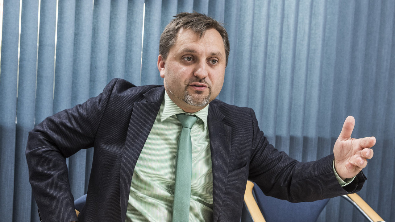 Viceprezident Svazu průmyslu a dopravy Jan Rafaj.