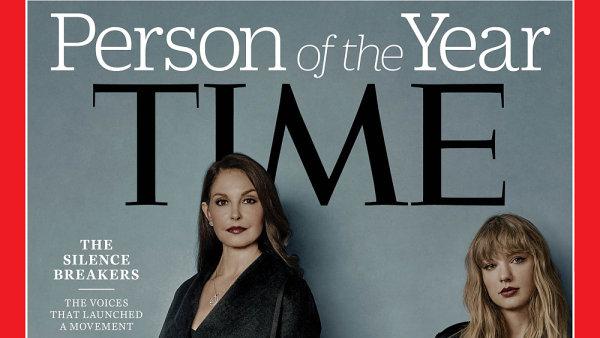 Osobnostmi roku časopisu Time jsou oběti sexuálního obtěžování, které promluvily v rámci #MeToo.