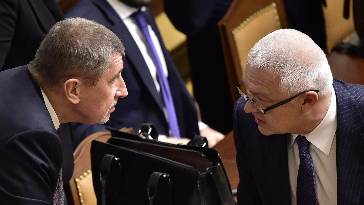 Žalobce rozhodl, vyšetřování Babiše a Faltýnka bude pokračovat.