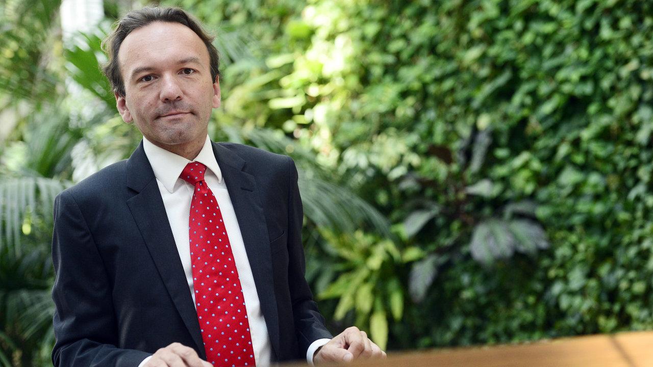 David Rozumek, poradce Mezinárodního měnového fondu pro Bosnu a Hercegovinu