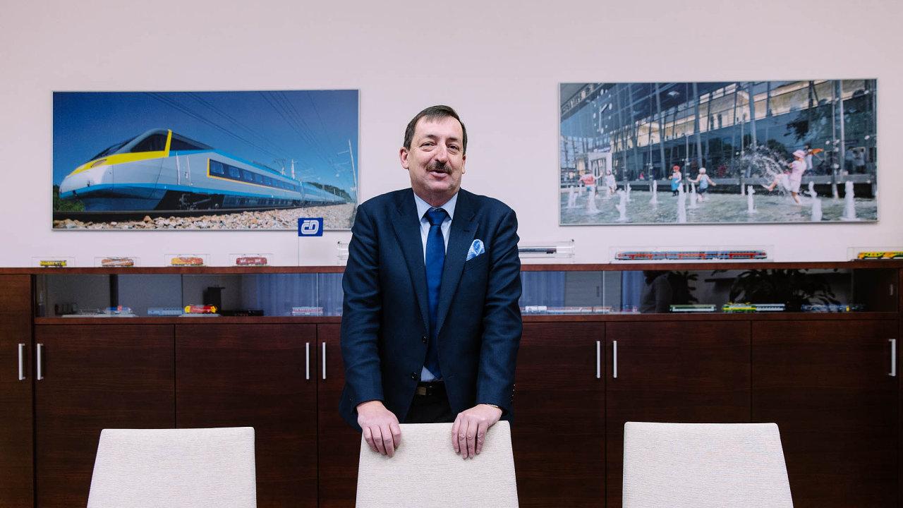 Bývalý ředitel Českých drah Dalibor Zelený.