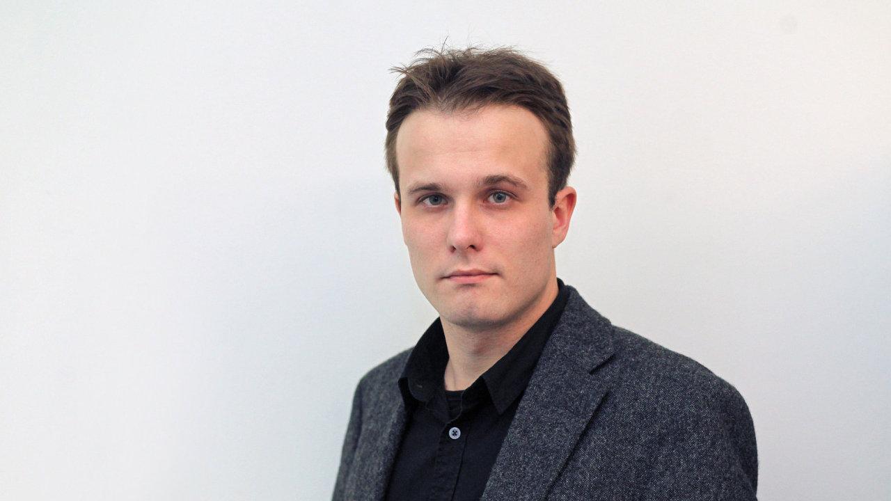 Daniel Konrád, vedoucí kulturní rubriky Hospodářských novin.