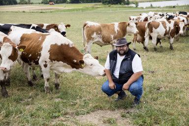 Zájem o lokální potraviny neroste. Češi se o původ jídla nezajímají, říká farmář František Němec