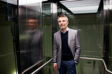 Generální ředitel developerské firmy Finep Tomáš Pardubický.
