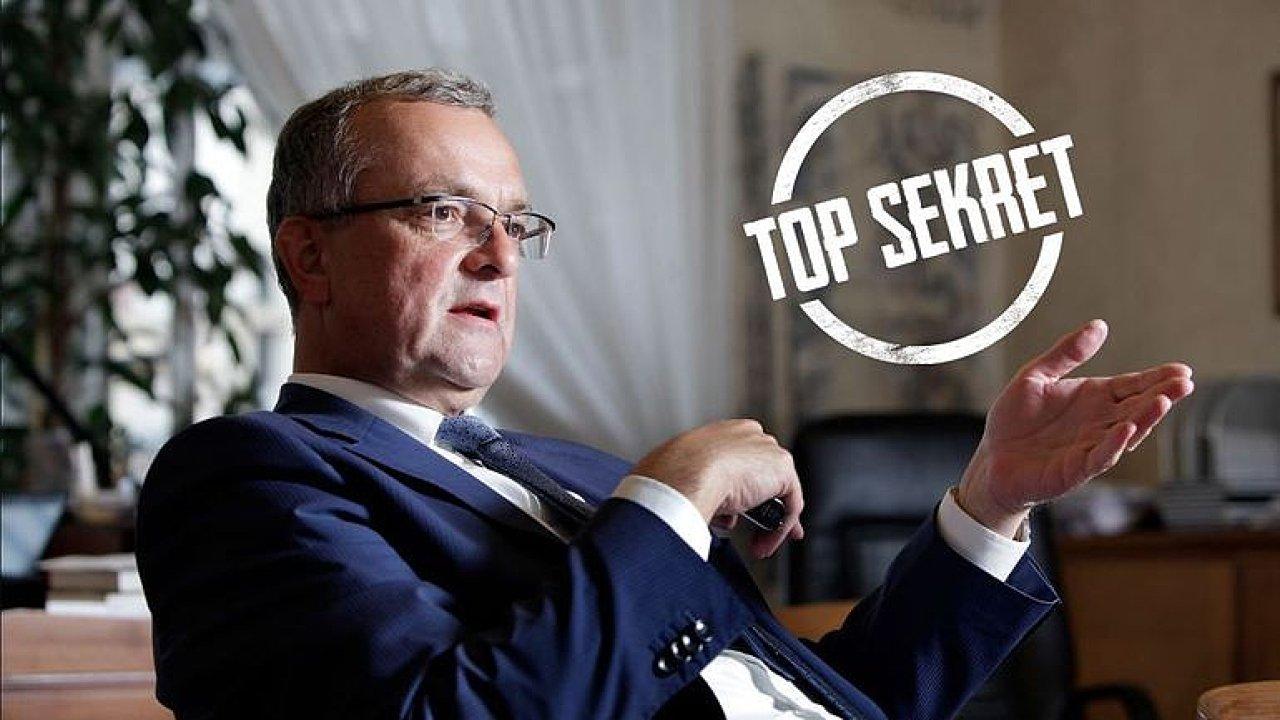 TOP SEKRET: Schwarzenbergova tajná zbraň: Kalousek - zničí všechny strany zevnitř