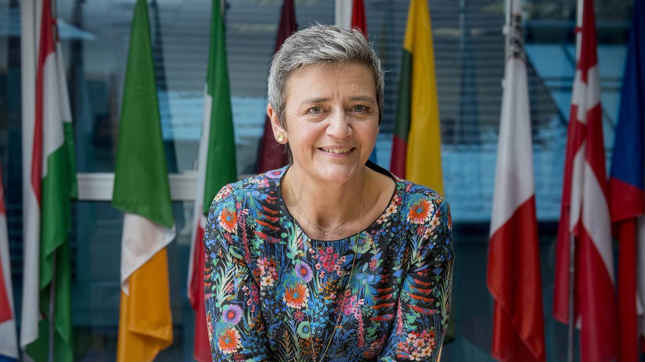 Přísná Dánka. Šéfka antimonopolního úřadu Evropy Margrethe Vestagerová nic neodpustí ani gigantickým koncernům.