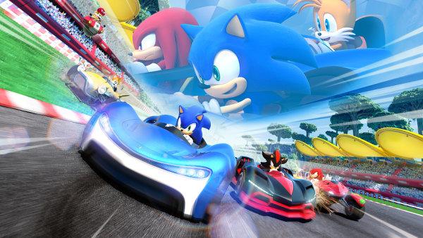 Team Sonic Racing: Modrý ježek vyděsil svět filmovou podobou, závodění mu jde lépe