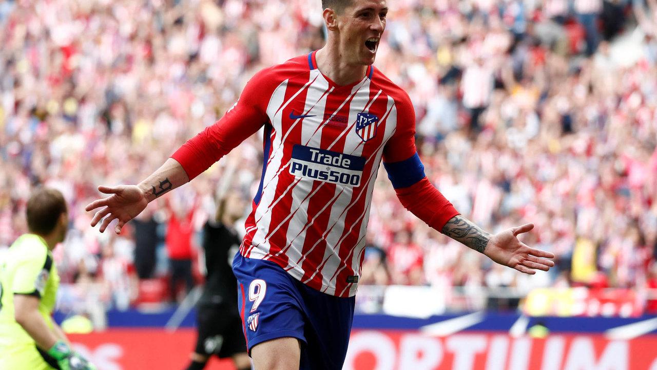 V milovaném klubu. Přes Atlético Madrid se Fernando Torres dostal do velkého fotbalu a našel tu azyl, když se mu přestalo dařit.