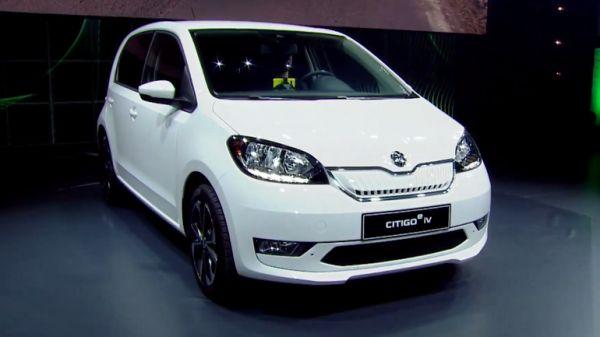 Škoda představila svůj první elektromobil Citigo iV