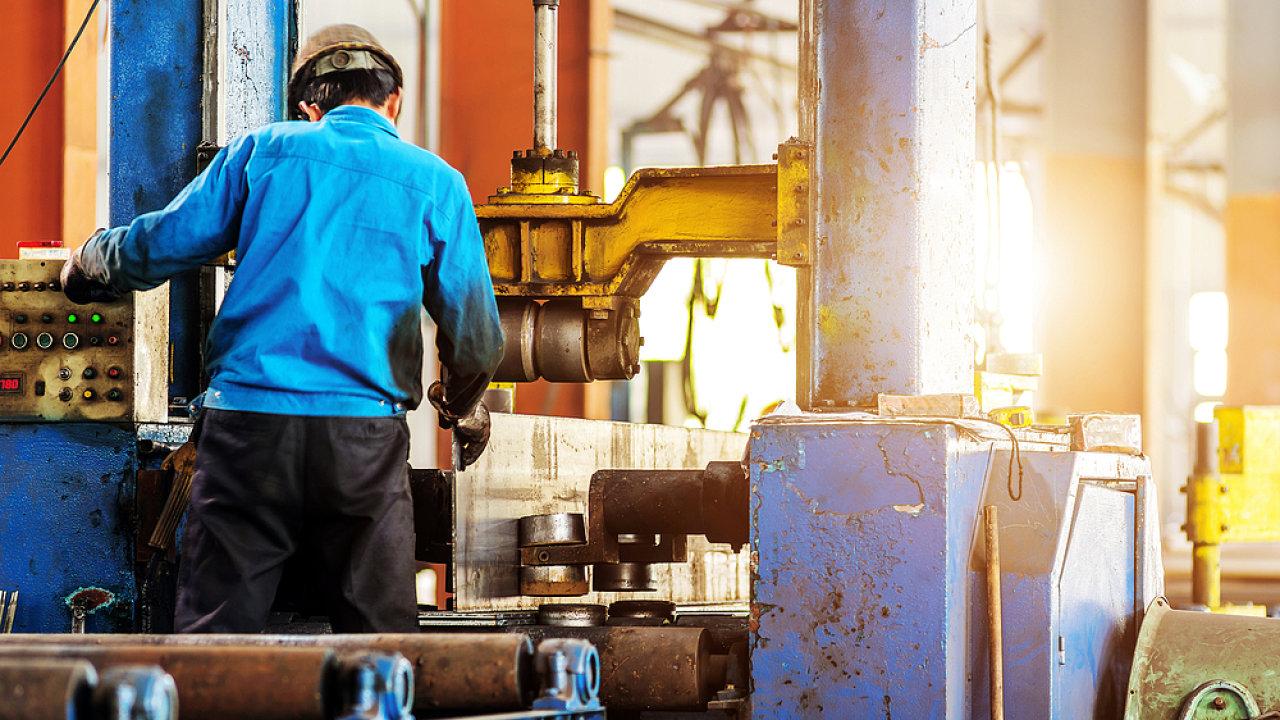 Továrna, ocelárna, ilustrační foto