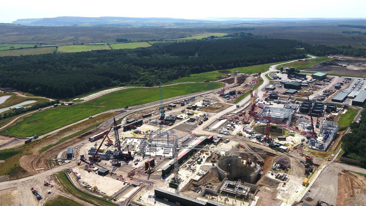 Důl Woodsmith vseverní Anglii, který buduje společnost Sirius Minerals, má být jedním znejvětších světových zdrojů polyhalitu, který se používá při výrobě hnojiv.