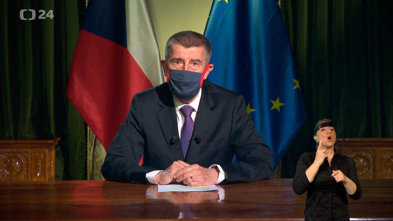 Premiér Babiš se snažil v projevu k národu, přenášeném na čtyřech televizích, působit státnicky. I když působil podle politologa Mlejnka spíše koženě, svoji roli splnil a jako premiér neselhal.