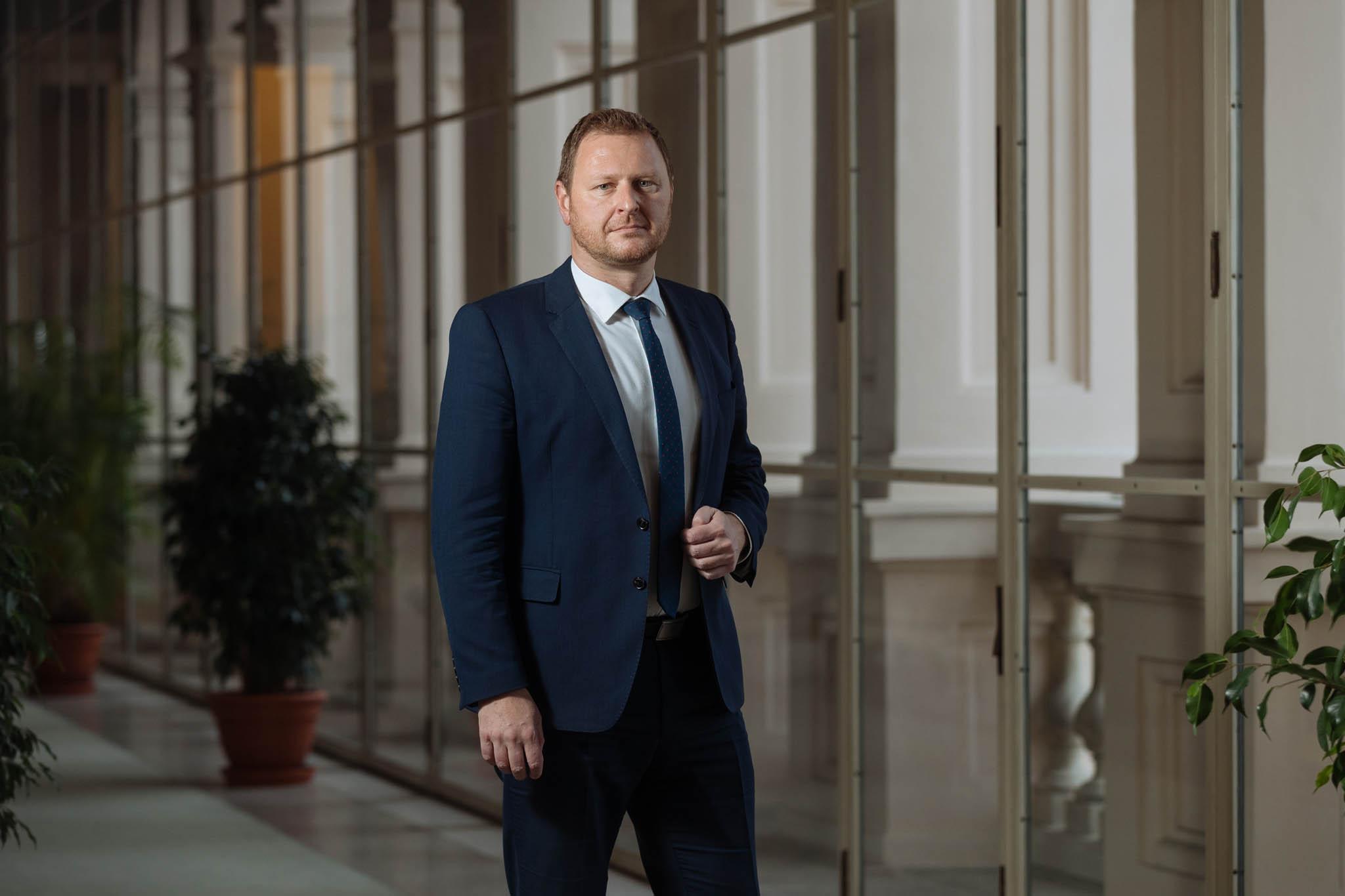 Český velvyslanec při unii Jakub Dürr.