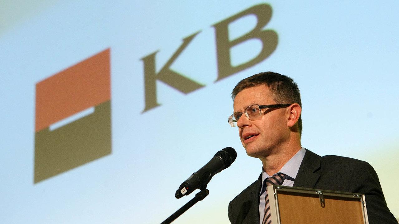 V úterý oslaví narozeniny Vladimír Jeřábek, člen představenstva aprovozní ředitel Komerční banky
