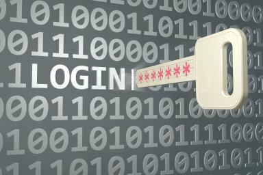 zabezpečení, heslo, ilustrace