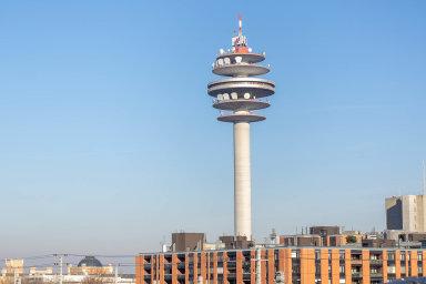 Telekomunikační věž Arsenal veVídni patří operátorovi A1. Objeví se jeho logo inačeském telekomunikačním trhu?