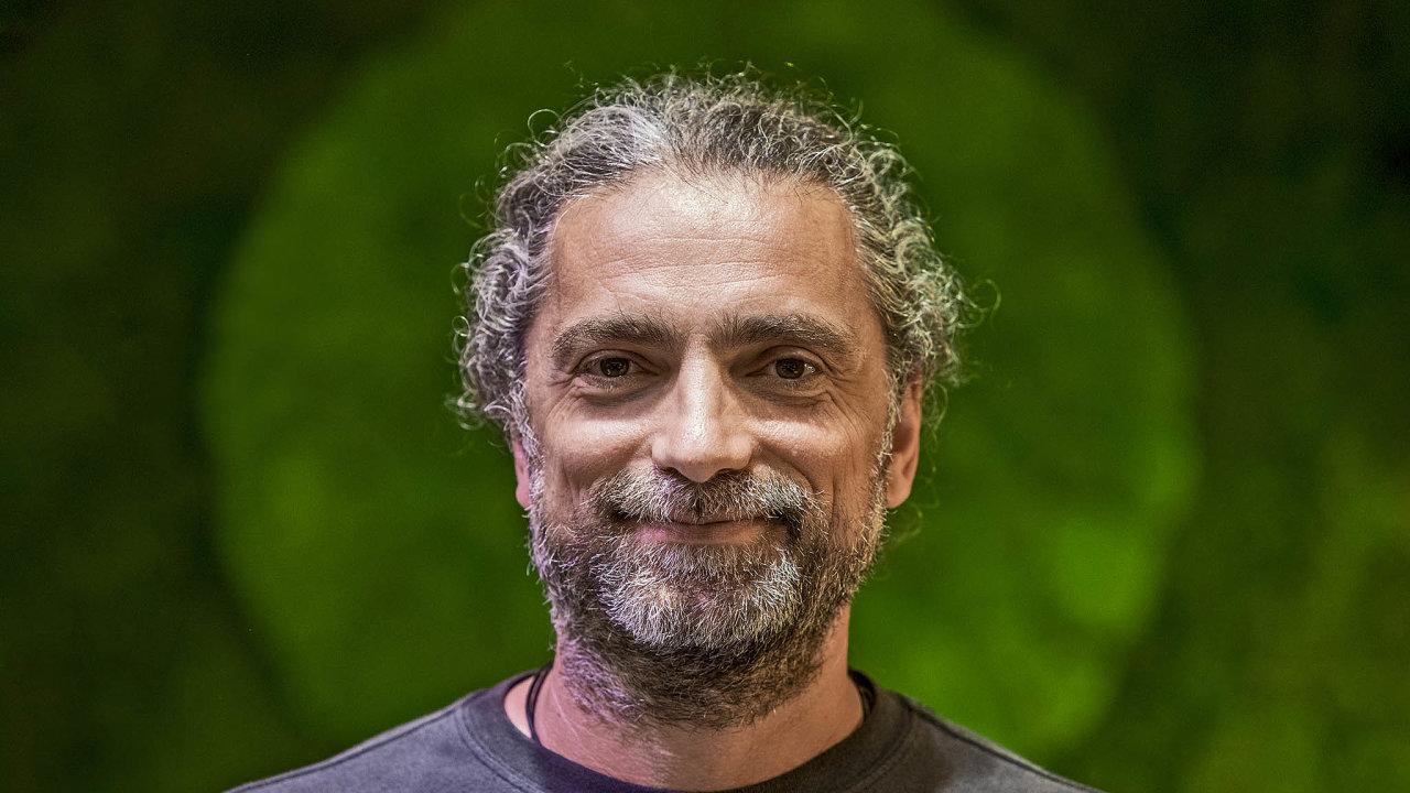 Šéf a většinový majitel nápojářské společnosti Kofola Jannis Samaras.