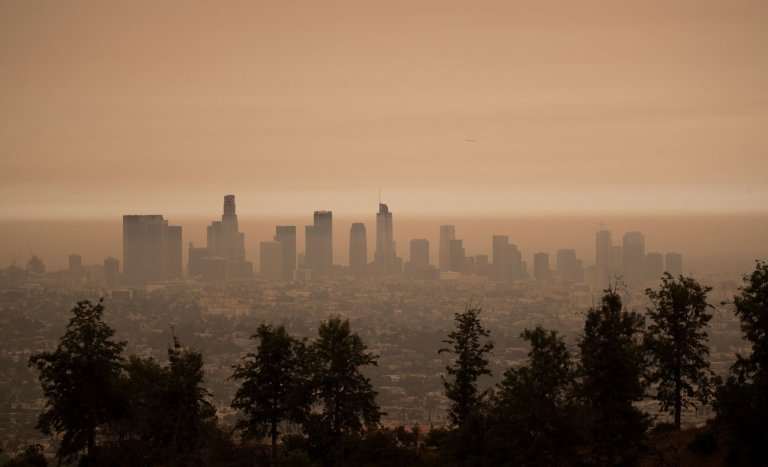 Kalifornie USA požáry