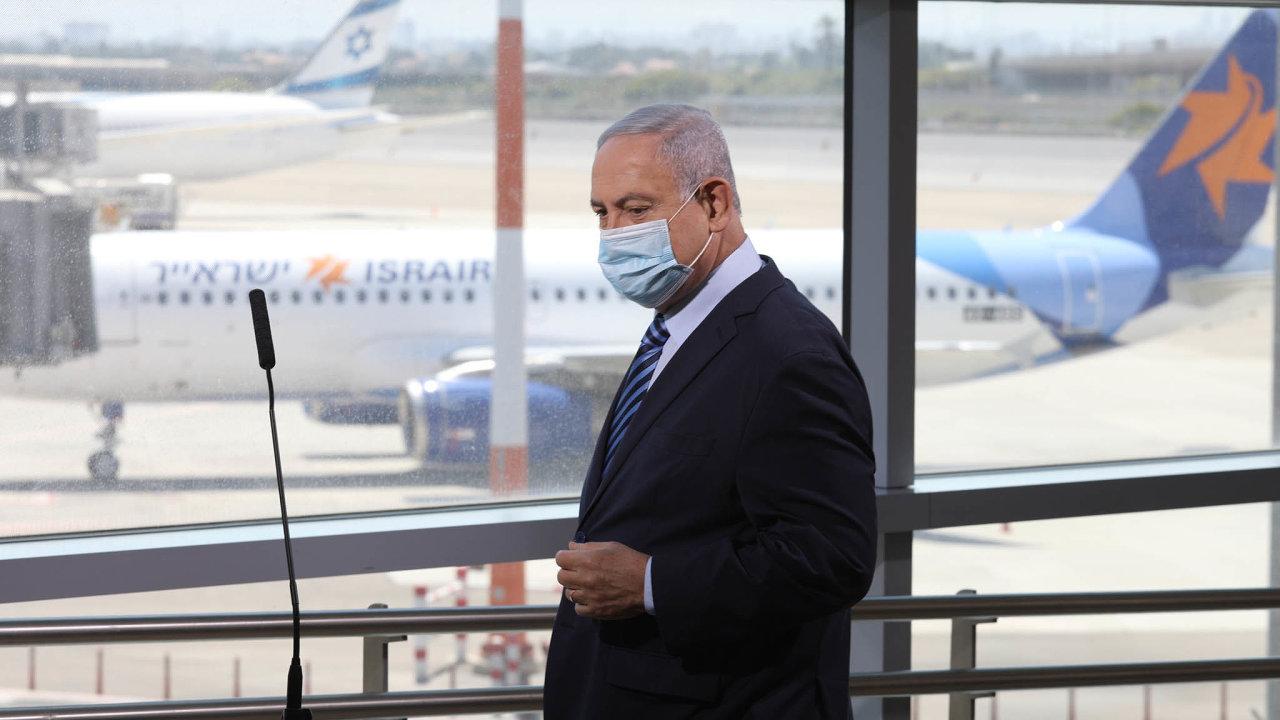 Izraelský premiér Benjamin Netanjahu přiletěl na tajnou schůzku do Saúdské Arábie jednat se saúdskoarabským korunním princem Muhammadem bin Salmánem. (Ilustrační foto)