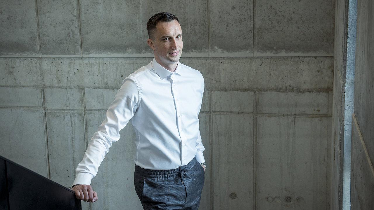 Michal Menšík, spolumajitel firmy DoDo.