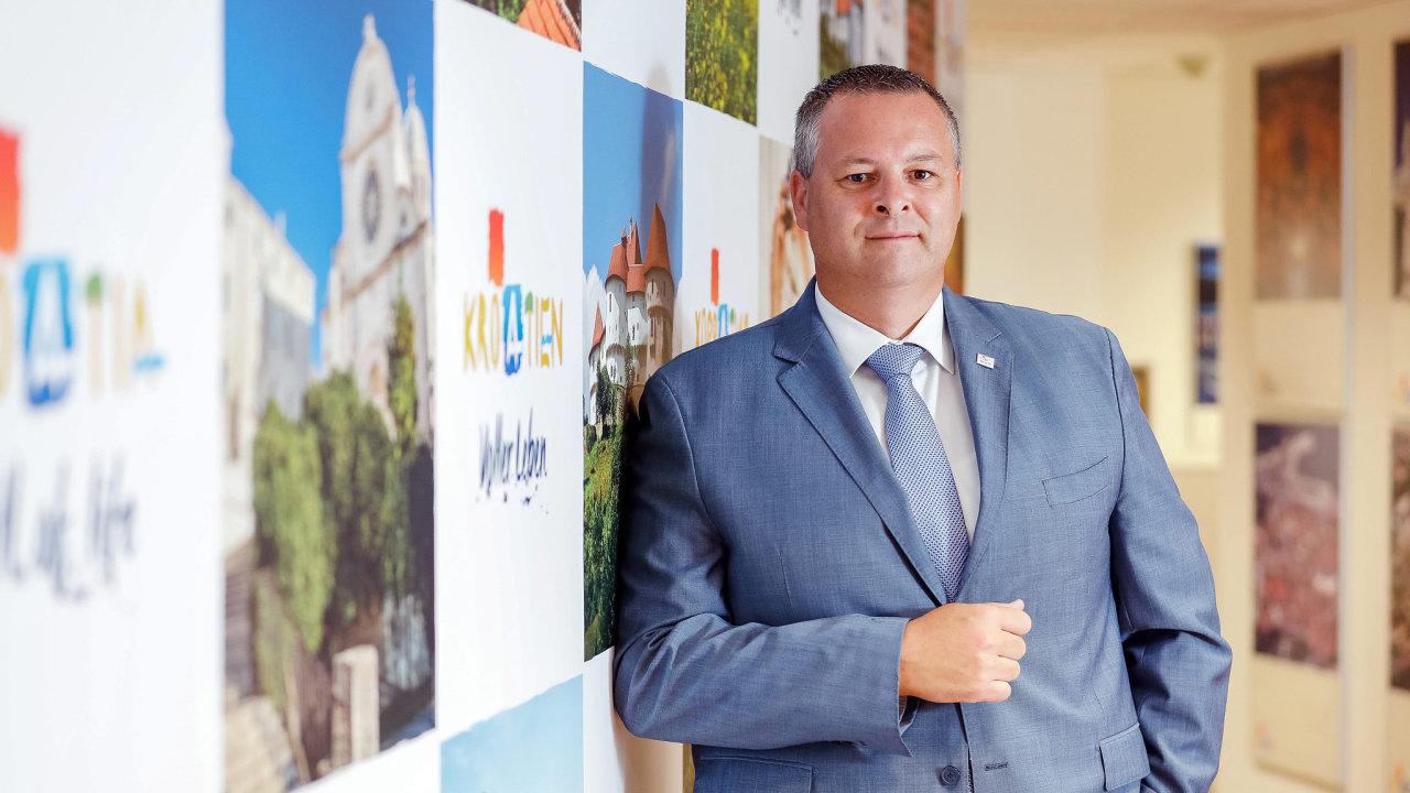 Kristjan Staničić, ředitel Chorvatského turistického sdružení