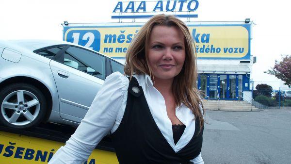 Karol�na Topolov�, gener�ln� �editelka AAA Auto
