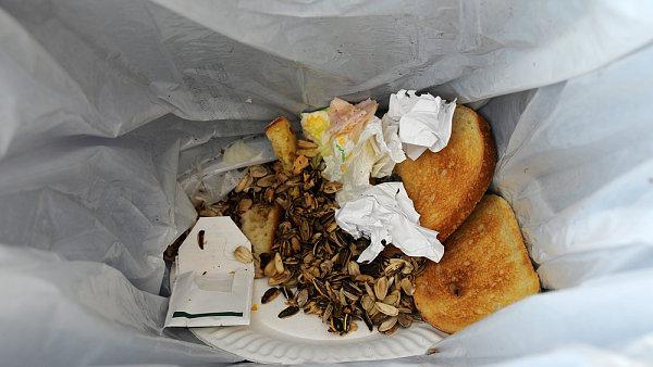 Průměrný Evropan vyhodí ročně 174 kilogramů jídla.
