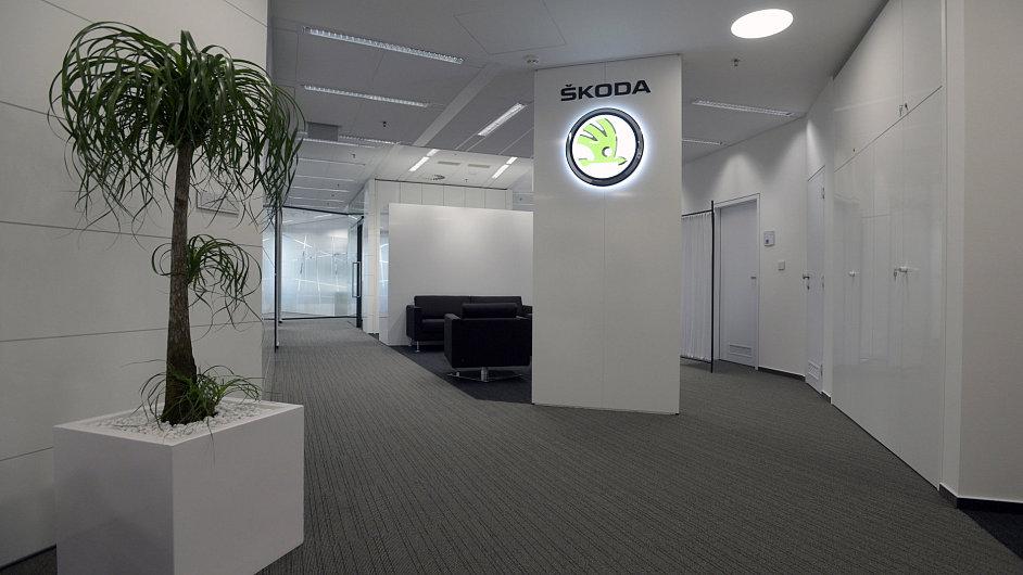 V budově Filadelfie BB Centra v Praze 4 byly slavnostně otevřeny nové kancelářské prostory společnosti Škoda Auto.