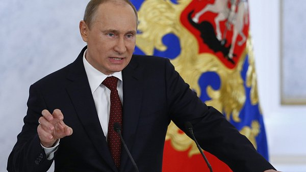 Rusk� prezident Vladimir Putin.