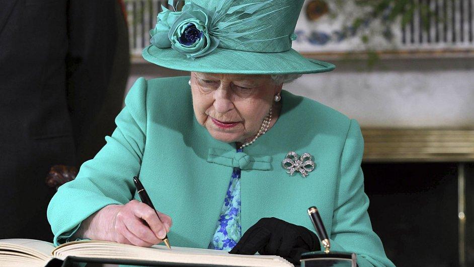 Královna Alžběta II na návštěvě Irska