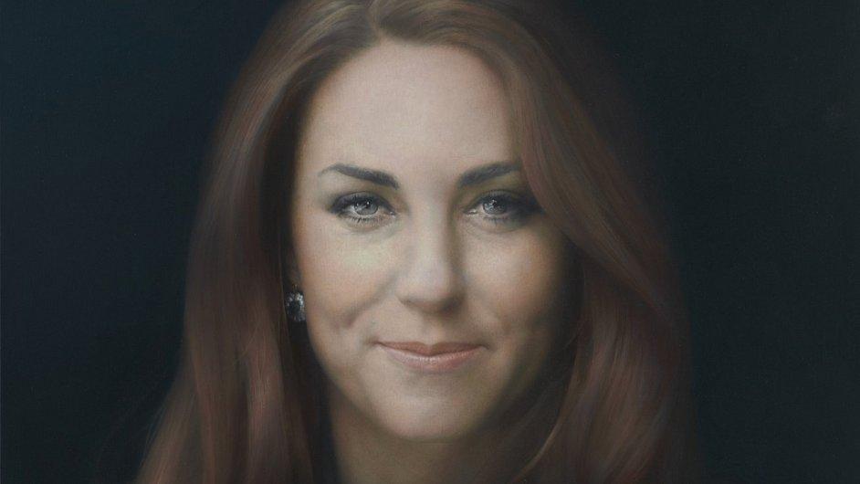 V Londýně představili první oficiální portrét vévodkyně Kate