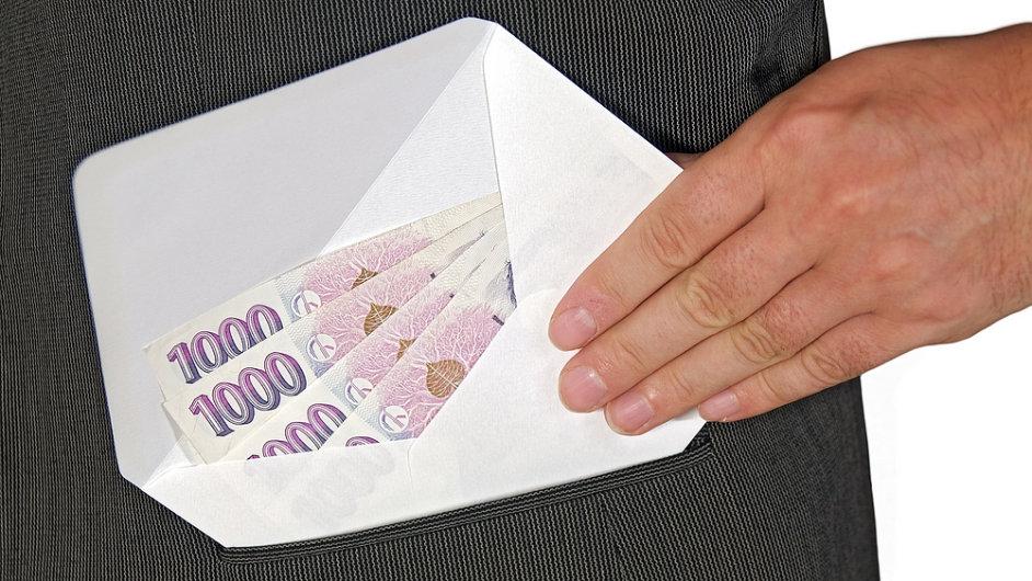 Korupce, ilustrační foto