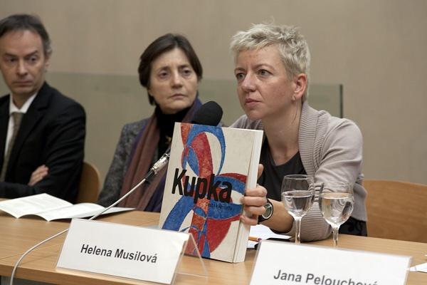 Kurátorkou sbírek současného a moderního umění Národní galerie se stala Helena Musilová.