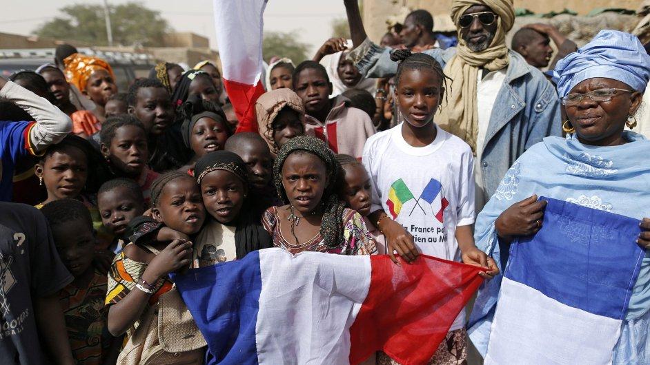 Francouzi jsou v Mali vítaní.