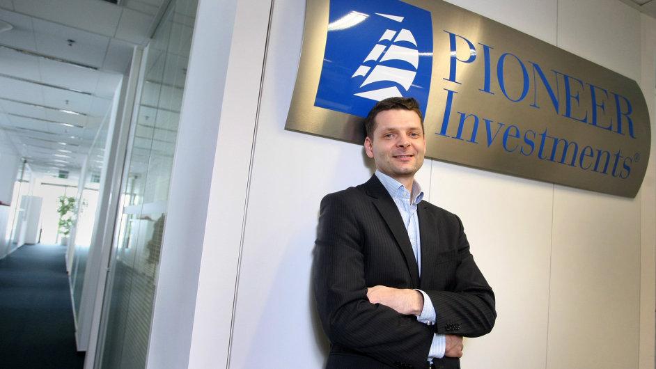 Petr Šimčák, člen představenstva Pioneer Asset Management ČR