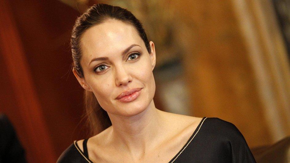 Angelina Jolie na Středním východě