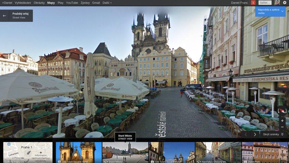 Nové mapy od Googlu