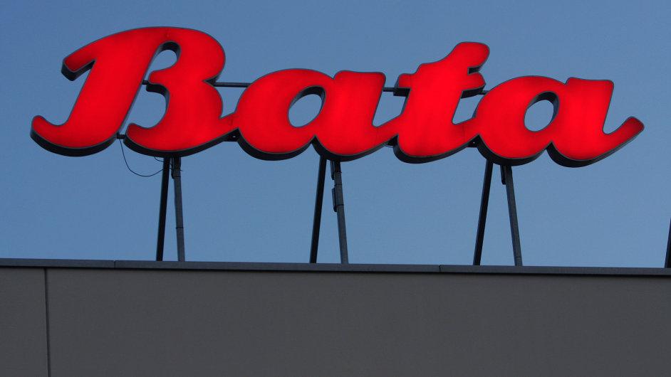 Logo značky Baťa