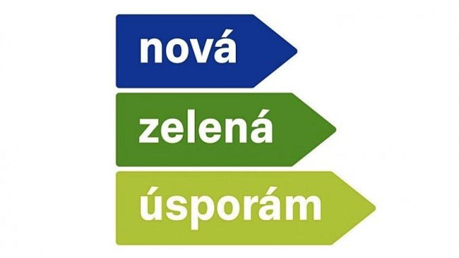 Logo programu Nová zelená úsporám